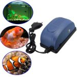 Mini Aquarium Fish Tank Oxygen Air Pump Ultrasilent Oxygen Pump
