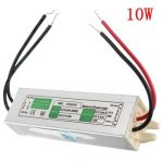 10W Waterproof IP67 LED Driver Transformer Power Supply AC110V-260V to DC12V