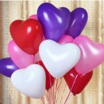 100pcs 12Inch Love Heart Balloon Balloons Valentine Proposal Wedding Party Decoration
