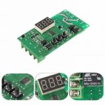 DC 12V Multifunction Motor Reversing Adjustable Control Panel Self-lock Relay PLC Cycle Timer Module Delay Time Switch