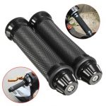 7/8inch Hand Grips with Handlebar End Aluminum Silicone Motorcycle