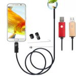7mm 6 LED HD Camera OTG USB 2m Industrial Endoscope for Samsung S6/S7 Edge Android PC