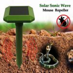 GreatHouse Solar Power Sonic Wave Mouse Snake Repeller Outdoor Garden Animal Expeller