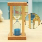 1/3/5 Min Wooden Sand Sandglass Hourglass Timer Clock Decor Unique Gift Kitchen Sand clock