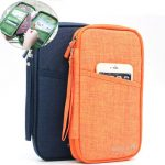 Travel Large Space Multi-functional Card Storage Bag Wallet For Mobile Phone Passport Ticket