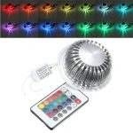 Remote Control RGB Color Change 3W LED Ceiling Spotlight Down Recessed Light