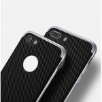 Luxury Ucase 2 In 1 TPU PC Dual Protection Carbon Fiber Shockproof Case For iPhone 7