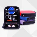 26Pcs Travel Sewing Kit Bag Emergencies Filled Sewing Tools Storage Bag With Scissor Needle Thread