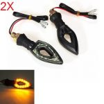 4pcs Motorcycle 12SMD LED Bulds Turn Indicators Lights Lamp EP98
