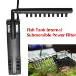 SUNSUN 300L/H Aquarium Fish Tank Plastic Internal Submersible Water Filter Pump