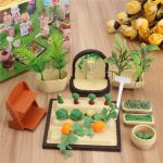 1:12 Simulation Vegetable Land Playhouse Props Dollhouse Creative DIY Material