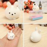 Bunny Ball Squishy Squeeze Cute Healing Toy Kawaii Collection Stress Reliever Gift Decor