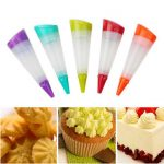 1Pc With 3 Nozzles Decorating Gun Silicone Icing Piping Bottle Cake Decorating Tool