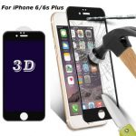 """0.33mm 3D Curve Edge 9H Anti Blue Light Tempered Glass Screen Protector For iPhone 6/6s Plus 5.5"""""""