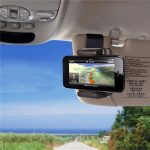 Universal Portable Car Sun Visor Mount Clip Stand Phone Holder For Phone Under 5.5-inch