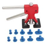 11pcs Car Body Dent Puller Paintless Hail Removal Repair Tool with 10 Tabs
