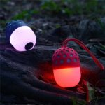 LED Colorful Mini Portable IPX4 Waterproof Hands-free Call Microphone Bluetooth Speaker
