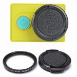 37mm UV Filter Protective Lens Cover Cap Accessories For Xiao Yi 2 and 4K Camera