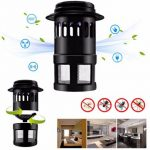 220V Electric LED Light Mosquito Killer Fly Bug Insect Zapper Trap Catcher Lamp