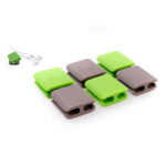Wrap Cable Wireclips Scattered Wires Organizer for Cables Random