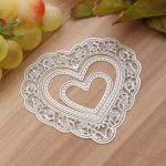 Hollow Heart Steel DIY Cutting Dies Stencil Scrapbook Card Album Paper Embossing Craft Decoration
