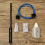 Cleaning Brush Kit Instrument Maintenance Care Tool for Trumpet Trombone Horn