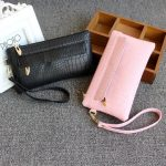 Universal Women Bag Crocodile Leather Wallet Case Phone Bag Zipper Bag for iPhone Samsung Xiaomi