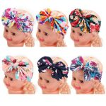 Kids Baby Girl Infant Flower Hairband Turban Floral Photography Bowknot Headband Wear Accessories