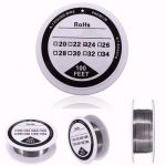 100ft 24 Gauge AWG A1 Kanthal Round Heating Resistance Wire 0.51mm