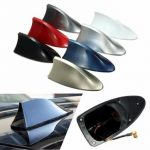 ABS Plastic Roof Style Shark Fin Antenna Radio Signal Aerials Universial for Most Cars