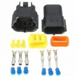 Waterproof 3 Pin Way Wire Connector Terminals For Motorcycle Electrical Car Truck