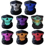 Multifunctional Seamless Changed Magic Scarf Halloween Costumes Skull Head Scarf Mask Multi Color