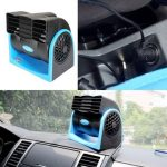 HX-T301 DC12V 7W Mini Car Truck Vehicle Air Conditioning Electric Fan