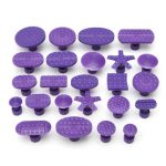 24PCS Car Paintless Dent Removal Repair PDR Tools PDR Puller Lifter Glue Tabs