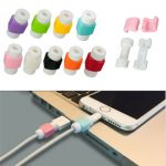USB Data Charger Cable Protector for iPhone Xiaomi Samsung Huawei