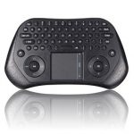 Wireless Keyboard Air Mouse Remote Control Touchpad for Windows Linux Android PS3