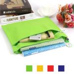 4 Color Non-woven File Holder Cloth Document Organizer Bag