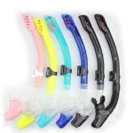 Scuba Diving Full Dry Snorkel Breathing Tube Snorkeling Silicon Pipe Swimming Equipment