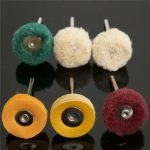 6pcs Polisher Buffer Wheel Polishing Buffing Pad Kit for Dremel Rotary Tool