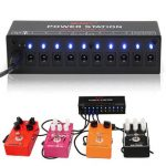 Guitar Effect Power Supply Station 10 Isolated Output 9V 12V 18V for Guitar Effects Pedals