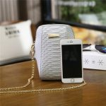 Women 6.0 Inchs Phone Card Key Crossbody Bag Two Straps Shoulder Bag