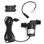 Mini Solar DC 12V-24V 700L/H Hot Water Circulation Brushless Motor Pump Washing