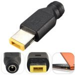 5.5 x 2.5mm Female Power Plug Charger Converter Cable Adapter for Lenovo ThinkPad