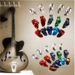 15pcs Stainless Steel Celluloid Thumb Finger Guitar Picks Plectrum Case