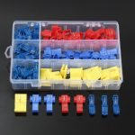 85pcs Electrical Connector Assortment Kit Quick Splice Solderless Wire T-Tap