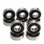10pcs 8x22x7mm Deep Groove Miniature Bearing Sealing 608-2RS 608RS Deep Groove Ball Bearing