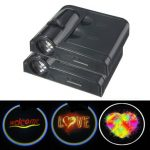 2Pcs Universal Car Welcome Light LED Projector Door Shadow Lamps with Magnet Sensor