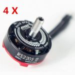4x Emax RS2205S 2300KV Racing Edition Brushess Motor for FPV Racing