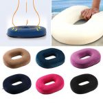 Donut Memory Foam Pregnancy Seat Cushions Chair Car Office Home Soft Back Pillow