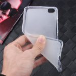 Ultra Thin Clear Translucent Soft Skin TPU Case For Xiaomi Mi 5